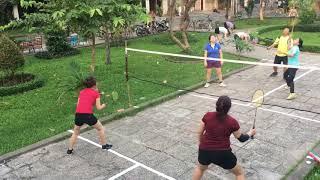 Cầu lông BC3: Trận đấu thiết lập biệt danh mới: Trung trật