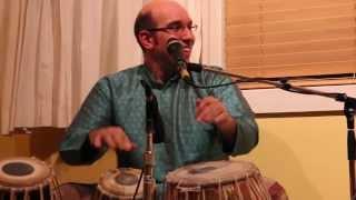 Shawn Mativetsky - Benarsi Tabla Solo in Teentaal (excerpts)
