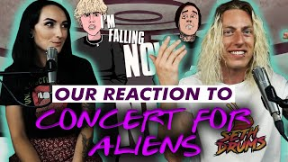 Wyatt and Lindsay React: Concert For Aliens by Machine Gun Kelly