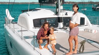 BOAT LIFE: Moving Our Family to a New Island