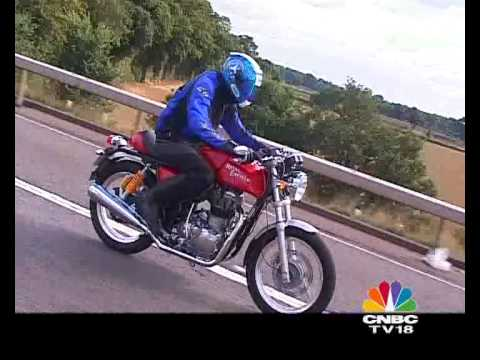 Overdrive CNBC-TV18:- First Ride - Royal Enfield Continental GT