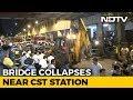 6 dead, 33 hurt as foot overbridge collapses in Mumbai