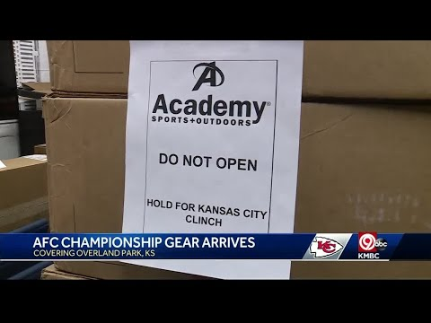 Academy Sports ready with Chiefs gear if team wins AFC title game