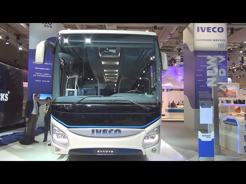 Iveco Evadys Bus Exterior and Interior in 3D