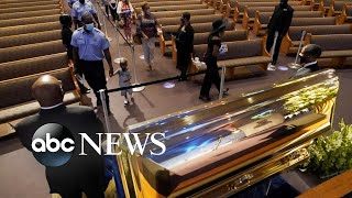 Thousands including Joe Biden pay tribute to George Floyd ..