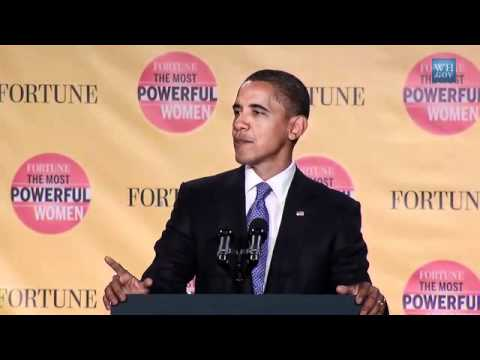 President Obama: the 2010 Fortune Most Powerful Women Summit