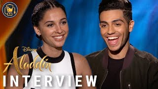 Aladdin Exclusive Interviews with Naomi Scott, Mena Massoud, Guy Ritchie and Alan Menken