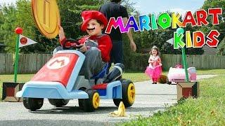 Mario Kart Kids: Surprised with Real Life Mario Kart Track