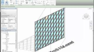 Revit Tutorial - The Revit Kid - Rotate Curtain Wall Grids ( Angled