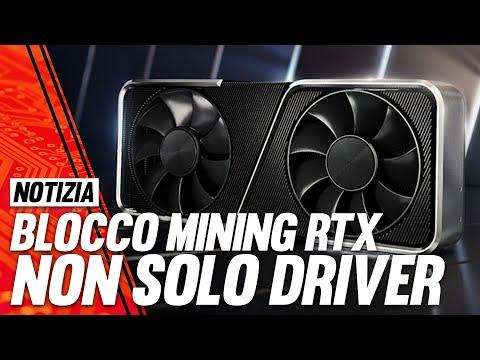 Mining su RTX, il Blocco di Nvidia è pi …