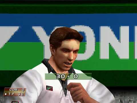 Virtua Tennis (Arcade Mode: Raf Ventura) (Hitmaker, Strangelite) (Windows) [2002] PC Longplay