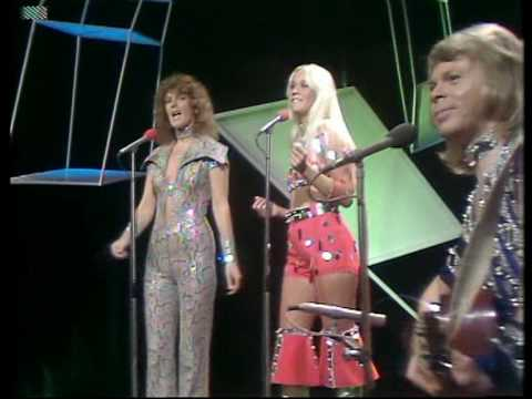 ABBA - Ring Ring  (at the Tommy Cooper hour show 1974)