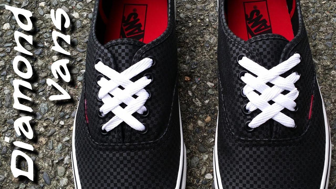 Vans Shoe Laces Pattern