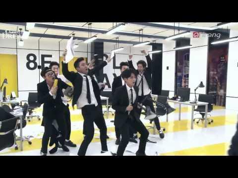 140415【ENG/中字】Pops in seoul - SJM《Swing》MV 拍攝花絮