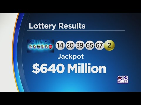 Here Are The Winning Powerball Numbers
