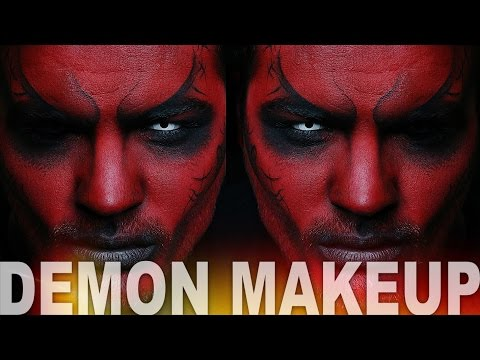 Demon Makeup | Halloween Makeup Tutorial | Alex Faction