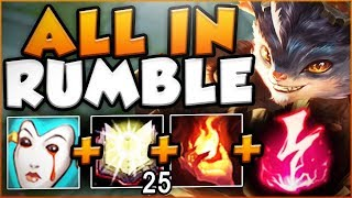 HOW OPPRESSIVE IS THIS KOREAN ALL IN RUMBLE BUILD? RUMBLE TOP SEASON 8 GAMEPLAY! League of Legends