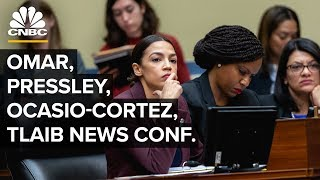 Rep. Omar, Tlaib, Pressley and Ocasio-Cortez respond to Trump's comments – 07/15/2019