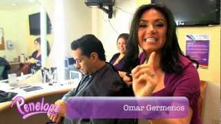 Penélope Menchaca detrás de cámaras en el show Levántate de Telemundo -Penelope Menchaca Channel