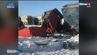 Серьёзная авария произошла в Калачинском районе