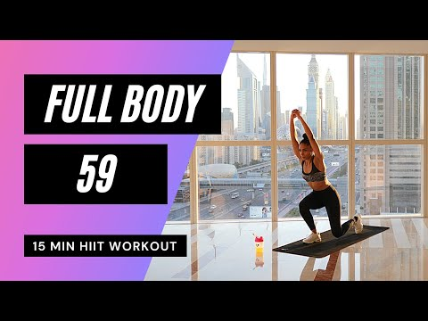 Full Body FAT BURN HIIT Workout: NO Equipment | 85