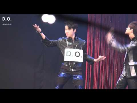 Fancam 120414 EXO-K Music Core Rehearsal - History (D.O focus)
