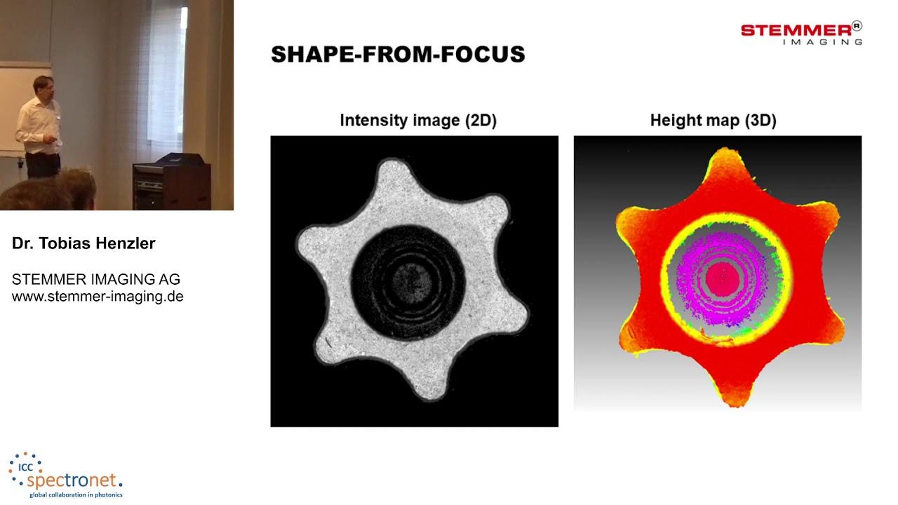 Shape-from-Focus: eine ungewöhnliche und leistungsfähige 3D–Bildgebungstechnologie - Technologieforum Bildverarbeitung 2019