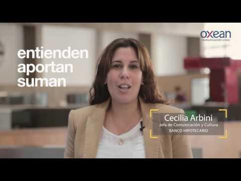 Grupo Oxean - Testimonio Banco Hipotecario - Cecilia Arbini