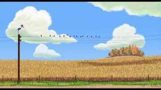Court-métrage Disney•Pixar - Drôles d'oiseaux sur une ligne à haute tension