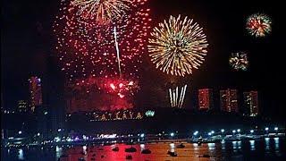 New Year Celebration 2018, Pattaya, Thailand