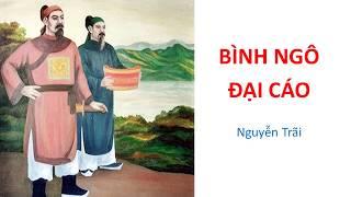 BÌNH NGÔ ĐẠI CÁO (Đại cáo bình Ngô) (Nguyễn Trãi)