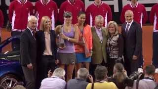 Final: Ana Ivanovic (SRB) vs. Maria Sharapova (RUS) 27 April 2014 - Porsche Tennis Grand Prix 2014