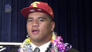 National Signing Day: Bingham's Jay Tufele talks about why he picked USC.