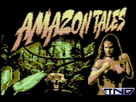 RETROJuegos Homebrew  Amazon Tales (The Last Amazon Trilogy) © 2020 Psytronik Software  Commodore 64 #RETROJuegos byFabio