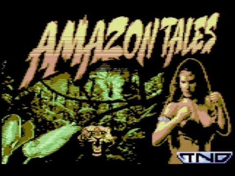 RETROJuegos Homebrew Amazon Tales (The Last Amazon Trilogy) © 2020 Psytronik Software Commodore 64