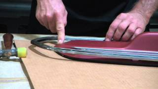 How To Assemble 67 Mustang Deluxe Door Panels Average Joe Restoration