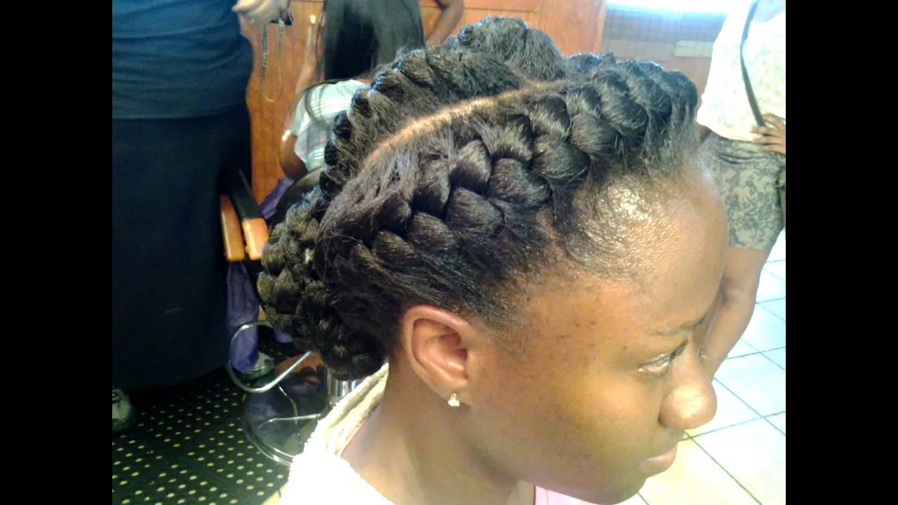 3 Goddess Braids Hairstyles: Memphis Goddess Braids
