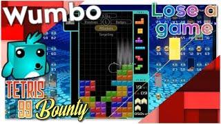 "Tetris 99 Bounty - ""Lose a game"""