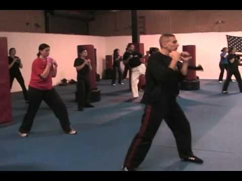 AKKA's Fitness Kickboxing Program Class Sample: Combinations
