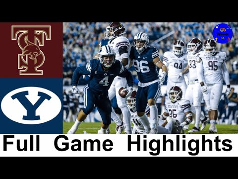 Texas State vs #12 BYU Highlights | College Football Week 8 | 2020 College Football Highlights