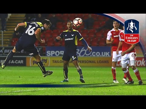 Rotherham United 2-3 Oxford United - Emirates FA Cup 2016/17 (R3) | Goals & Highlights