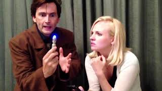 David Tennant plays Doctor Who in new video with wife Georgia Tennant - the Tenth Doctor returns