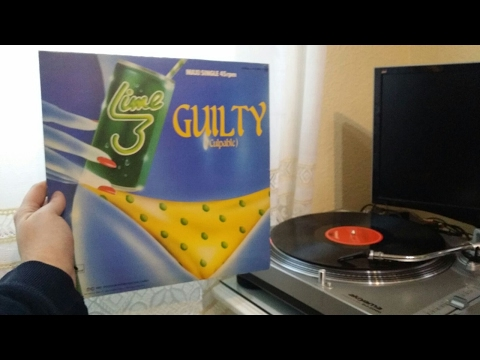 Lime - Guilty / Maxi Single Vinilo
