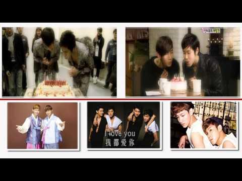 TVXQ! Homin couple video-Mhloveandwar 1 yr Anniversary video