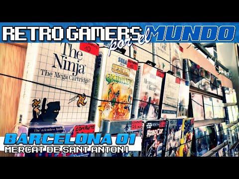 Barcelona #01 - Mercado San Antonio [Retro Gamers por el Mundo]