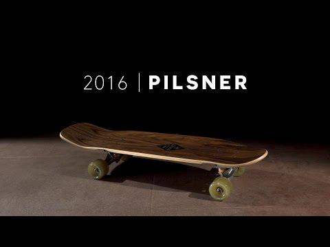"""Video ARBOR Skate mini cruiser CRUISER PILSNER SOLSTICE 17 29"""" Multicolor"""