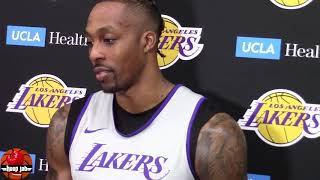 Dwight Howard On James Harden & Russell Westbrook. Lakers vs Rockets HoopJab NBA