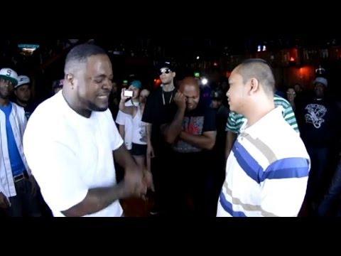Rap Battle | Blue Jaccet vs Patron | AHAT Washington debut