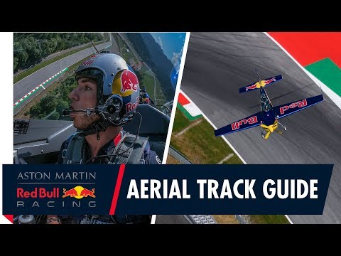 Pierre Gasly takes flight with Martin Sonka for an Aerial lap of the Red Bull Ring