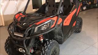 "2018 Can Am Maverick Trail ""walkaround"" review. My thoughts so far..."